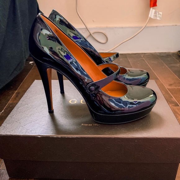 Gucci Shoes - Black Gucci Mary Jane